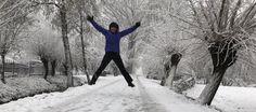 Jippie! sneeuw