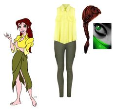 """Untitled #91"" by lydia-n-radford on Polyvore featuring Disney and Ally Fashion"