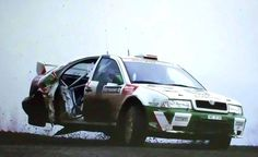 Tre wheleer skoda Rallye Wrc, Rally Car, Car And Driver, Great Pictures, Race Cars, Racing, History, Vehicles, 5 Years