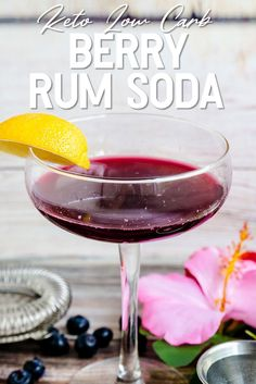 Alcoholic Drinks Rum, Drinks Alcohol, Alcohol Spirits, Low Carb Cocktails, Keto Drink, Keto Diet For Beginners, Sugar Free, Super Easy, Soda