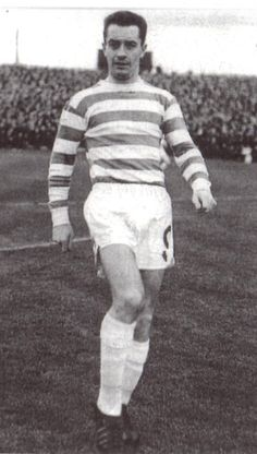 Stevie Chalmers of Celtic in Jim Craig, Celtic Fc, Football Stadiums, The Past, Soccer, Club, Glasgow, Legends, Faces