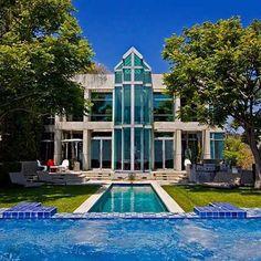Sunset Plaza mansion in LA #DreamHomes #L4L #furniture #design #instafollow