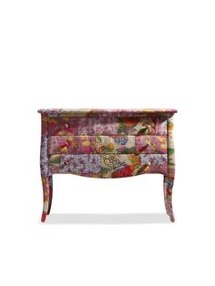Angel Fabric Chest - Gilt Home