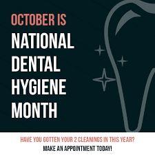 Image result for october dental hygiene month