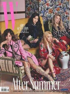 Girls' Generation Wkorea August.2017 - A DECADE TO REMEMBER