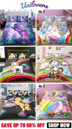 Dream Rooms, Dream Bedroom, Girls Bedroom, Unicorn Room Decor, Unicorn Bedroom, Little Girl Rooms, Little Girls, Unicorn Presents, Unicorn Bed Set