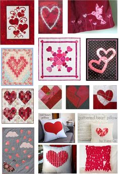 Quilt Inspiration: Free pattern day: Hearts and Valentines part 2