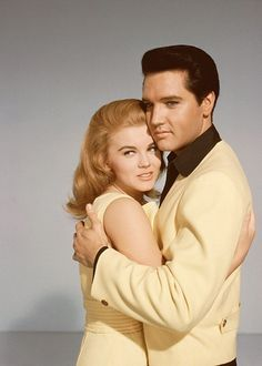 Elvis and Ann-Margret in a publicity still for Viva Las Vegas, released in 1964.