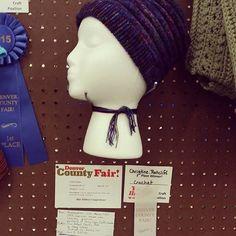 xtinerat ribbon #crochet at the fair