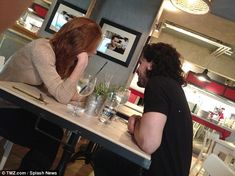 Game of Thrones' Kit Harington and Rose Leslie's simmering sexual tension spills off screen on romantic London dinner date Cute Romance, Rose Leslie, Kit Harington, Date Dinner, Winter Is Here, Best Tv Shows, Game Of Thrones, Celebs, Romantic