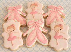 Ballerina cookies // Miss Biscuit