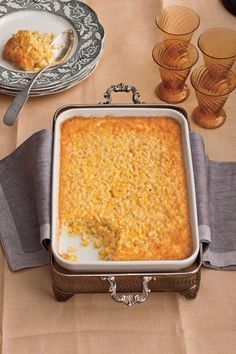 Recipe: Tee's Corn Pudding Corn pudding is a Southern side dish that you will always want to have on your Thanksgiving table. We think that Tee's Corn Pudding is Easter Side Dishes, Corn Dishes, Corn Pudding Recipes, Casserole Recipes, Corn Casserole, Pudding Corn, Casserole Dishes, Best Thanksgiving Recipes, Holiday Recipes