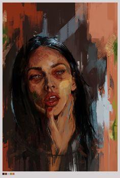 Jennifer's Body, Ira Poplavskaya – Claire Gorvin – Art Images Murales, Jennifer's Body, Arte Sketchbook, A Level Art, Wow Art, Art Hoe, Art Portfolio, Art Drawings Sketches, Pretty Art
