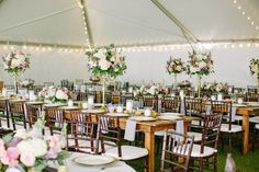 gold and lavender reception