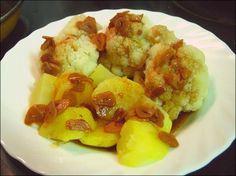 Varomeando: Coliflor con patatas