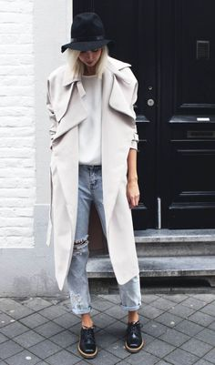 street style: the trench