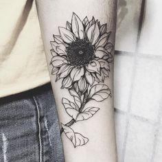Kuvahaun tulos haulle sunflower tattoo