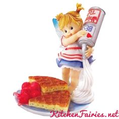 Waffle Fairie - From Series Twenty of the My Little Kitchen Fairies collection