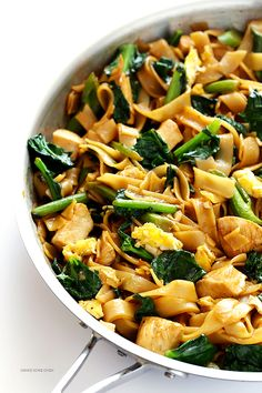Pad See Ew by gimmesomeoven:  This Thai dish is quick and easy to make at home, and easy to customize with your favorite protein. #Noodles #Thai