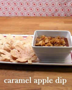 Caramel Apple Dip Perfect For A Dinner Party Appetizer