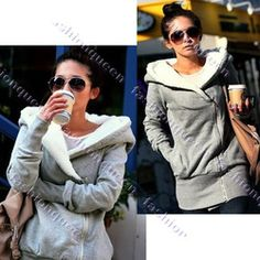 Grey Hoodie  Looove it. Can't wait for it to get brrrr cold