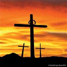 The battle is over, there'll be no more war, the end of the conflict, and Jesus is LORD! Easter Cross, Easter Art, Easter Ideas, Good Friday Images, Cross Pictures, Jesus Christus, The Cross Of Christ, Jesus Cross, Easter Pictures