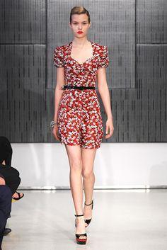 Saint Laurent Resort 2012 Fashion Show - Josephine Skriver