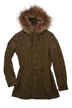 Capulet winter Jacket with fur trim, available at Shades of Grey, Edmonton