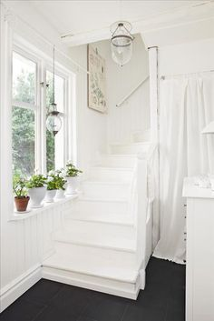 stairs, light, pretty ~