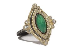 Armenta Midnight Silver  18k Yellow Gold Green Onyx Marquise Ring On Diamond Eternity Band Now available at Diamond Dream Fine Jewelers https://www.facebook.com/pages/Diamond-Dream-Fine-Jewelers/170823023636 https://www.diamonddreamjewelers.com info@diamonddreamjewelers.com 908.766.4700