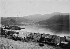 Vista de Port de la Selva ( Girona). 1942. Autor desconegut. 27656F MMB Costa, Barcelona, Mountains, History, World, Nature, Travel, Author, Historia