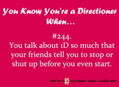 How can you not relate anything to 1D