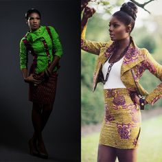 5 Gorgeous Ankara jackets and tops - #1 Nigeria Style Blog - http://stylesonstyles.blogspot.com.ng/2015/12/5-gorgeous-ankara-jackets-and-tops.html
