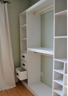 Fresh Basement Closets Idea