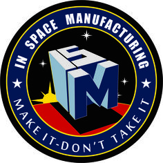 Visual Arts Contest Entry for NASA In-Space Manufacturing Logo Challenge Space Exploration, Mobile Application, Climate Change, Nasa, Challenges, Graphic Design, Robotics, Visual Arts, Logos