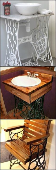 Do you have grandma's old model Singer sewing machine table in your storage? If you do, then you've got a gem there. You'll learn that these cost anywhere between $80 to $400 on eBay!  http://theownerbuildernetwork.co/recycled-and-repurposed/creative-ways-to-reuse-an-old-sewing-machine-table/  Here's why - they are heirloom pieces that can be upcycled into gorgeous and unique pieces of furniture. Take a look at the great ideas we've gathered for you.