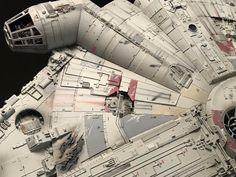 My Bandai Perfect Grade Millennium Falcon -finished! Star Wars Clone Wars, Star Wars Art, Star Trek, Milenium Falcon, Millennium Falcon Model, Custom Neon Lights, Perfect Grade, Star Wars The Old, Teaching Channel