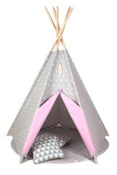 Tipi Namiot dla dziewczynki Różowa Planeta