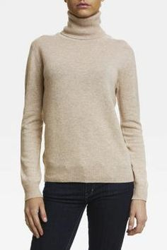 WILD WOOL AW14 Cashmere knit Turtle Neck Woman Beige 1.250,- kr www.wildwool.no