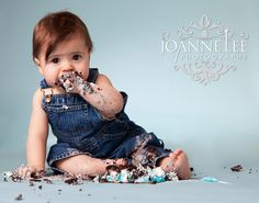 cake smash session - still not sure if we'll do a cake smash, but this pic is adorable!