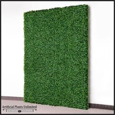 i think this could be extremely cool on the wall (west facing wall that is at the end of bathrooms Indoor Artificial Boxwood Living Wall 72in.L x 60in.H