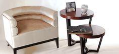 SULIVAN | Round Side Table, Side Table, Center Table @bocadolobo - Cuqui mesa de centro @muudmagazine