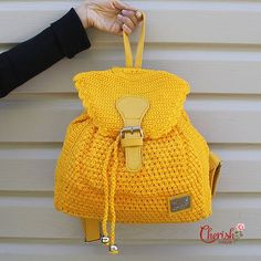 Alesha crochet backpack/backpack/Casual/woman by CherishInstyle