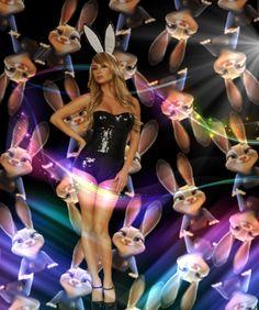 Bunny Girl -  - Diese  Collage wurde erstellt von Gerd Schremer