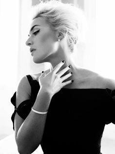Kate Winslet by Alexi Lubomirksi for Harper's Bazaar UK April 2013