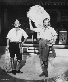 Still of Bing Crosby and Danny Kaye in White Christmas. Love this movie!