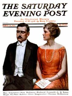 Sleeping At The Opera by Charles A. MacLellan, March 24, 1923, Saturday Evening…