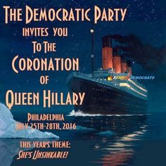 The nation watches the aftermath of #ElectionFraud2016 & pretends party unity is a must, lol, let her steal it from Trump like she did Bernie! What's the big deal, election fraud is now acceptable, we only do coronations now. #JillSteinIn2016 #DNCLEAKS. #HillNO. Can't wait for more Wikileaks truths.