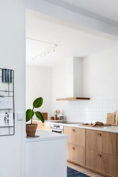 Best Indoor Garden Ideas for 2020 - Modern Barn Kitchen, Ikea Kitchen, Kitchen Interior, Kitchen Dining, Kitchen Decor, Küchen Design, Wood Design, Interior Design, Niklas