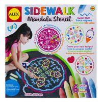 Alex Sidewalk Mandala Sweet Stuff